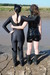 view details of set gm-2m68, Maude and Honeysuckle in the mud in catsuits