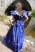 view details of set gm-2w169, Maude in a blue formal dress gets a water pounding