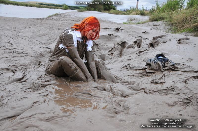 The Mud Rider Rosemary Wears Her Beautiful Cream